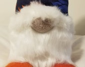 DENVER BRONCOS GNOME, nfl team, gnome, good luck charm, nordic design, swedish gnome, tomte, football decor, tomte, nfl, gift for him, elf