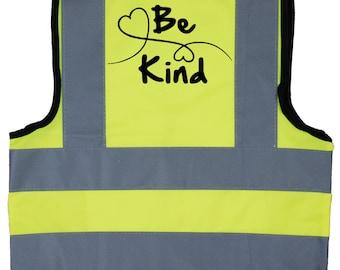 Racing Car Driver Baby Children/'s Kids Hi Vis Safety Jacket Vest Size 0-9 Years