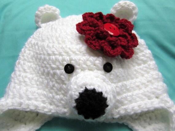 Eisbär Häkelmütze Kleinkind Geschenk Hüte häkeln für Kinder | Etsy