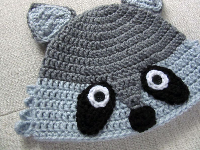 Raccoon hat raccoon gifts animal hats for adults hats for  7676e096c20