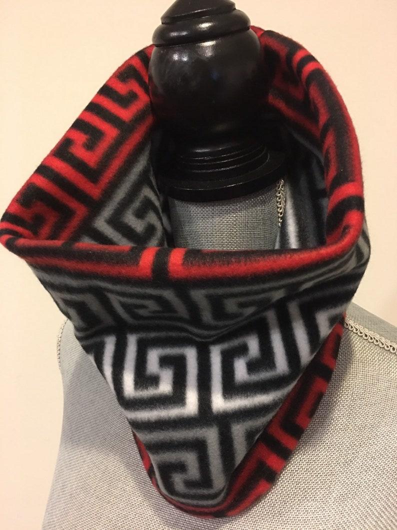 a36b89882d99c Neck warmer gaiter gator double layered fleece scarf