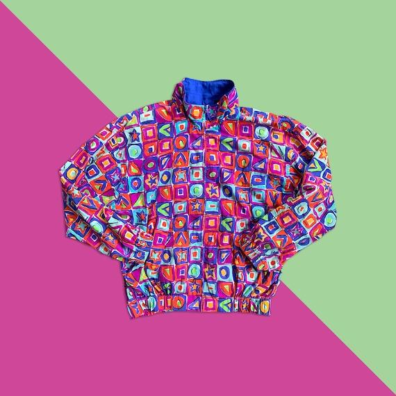 Vintage 80's - 90's LizSport Multicolored Geometri