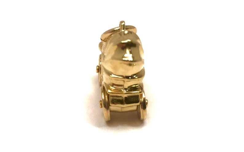 Yellow Gold Vintage Car Charm 14 Kt