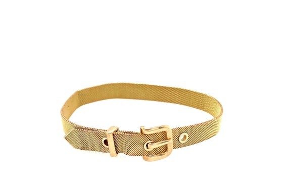 Mid Century Mesh Buckle Bracelet