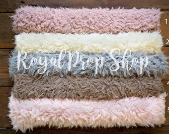 Baby Bedding Mother & Kids Gray Baby Wool Blanket Chunky Wool Rug Newborn Flokati Fur Natural Curly Fur Backdrops Baby Boy Props Curly Wool Layer Gift