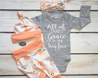 7c54a8d6aaa8 Baby Girl Coming Home Outfit