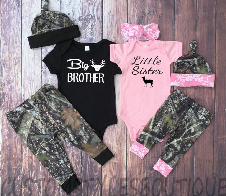 23c252eda Matching Outfits Big Brother Little Sister Camo Leggings | Etsy