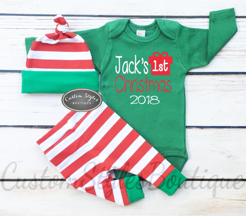 Christmas Baby Romper Products Are Sold Without Limitations My 1st Christmas Baby Grow Xmas Cute Santa