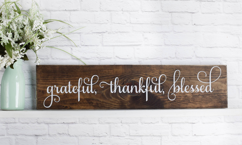 grateful thankful blessed 2019 wall calendar