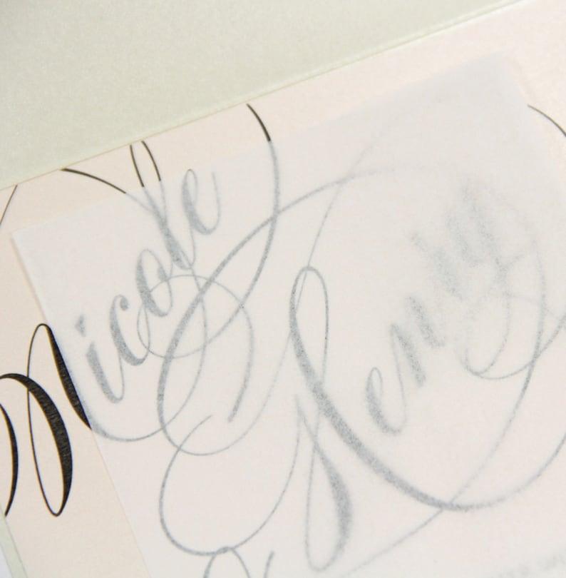 Wedding Invitation Tissue 3 1 2 X 5 1 2 50 White Etsy