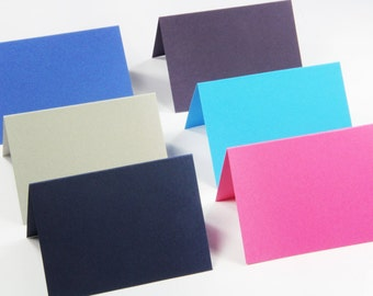 25 - A1 Folded Cards  - Blank Note Card - Blank Thank You Card - 3 1/2 x 4 7/8