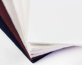 25 - A7 Vintage Deckle Edge Invitation Cards - 5x7 Deckled Edge Paper