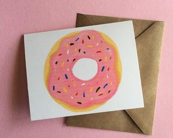 Donut! Celebration card