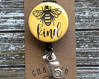 Bee Kind Badge HolderBe Kind Badge ReelCute Badge HoldersBe Kind Badge Holder
