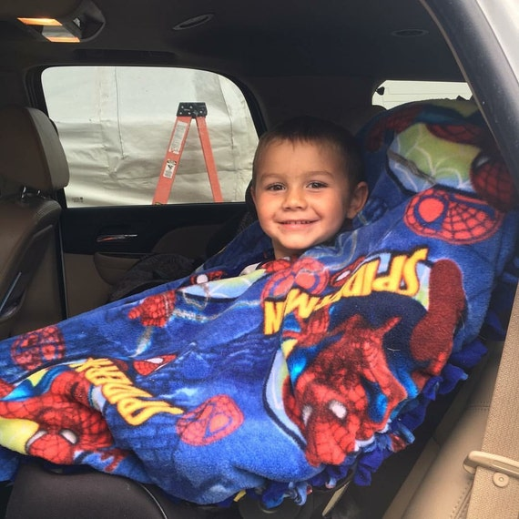 Fleece Car Seat Poncho