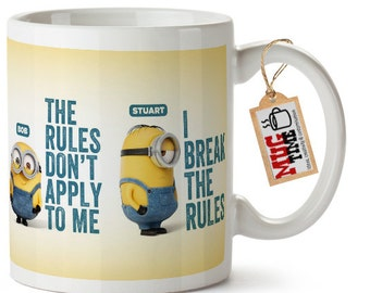 Minions Quotes Funny Mug Cup