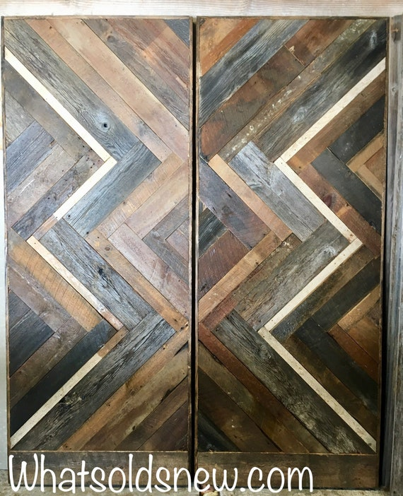Architectural Salvage Barn door/Industrial/Antique/Door/Vintage/Country Home Decor/Repurposed/Iron pipe/ Steam Punk/Custom made 2 Order