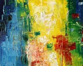Original Mendoza Abstract Wine Bottles Oil Painting Sketch Art Fresh New Study Paintings