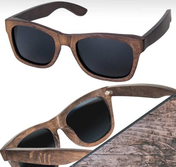 f938ac4274 Personalized Wood Sunglasses Custom Engraved Wood Sunglasses