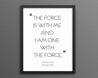 Rogue One Quote Etsy
