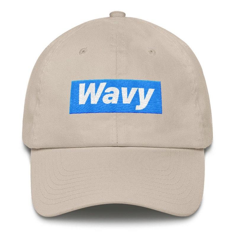 a98de9de75ef6 Wavy Dad Hat Streetwear Hat Wavy Hat New brand hat