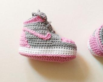 Crochet baby shoes 0c3659d29