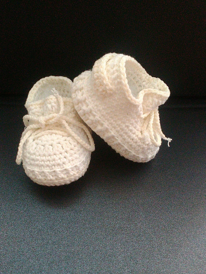 21bc7c131945 Crochet baby shoes Inspired by new yeezy butter Yeezy boost
