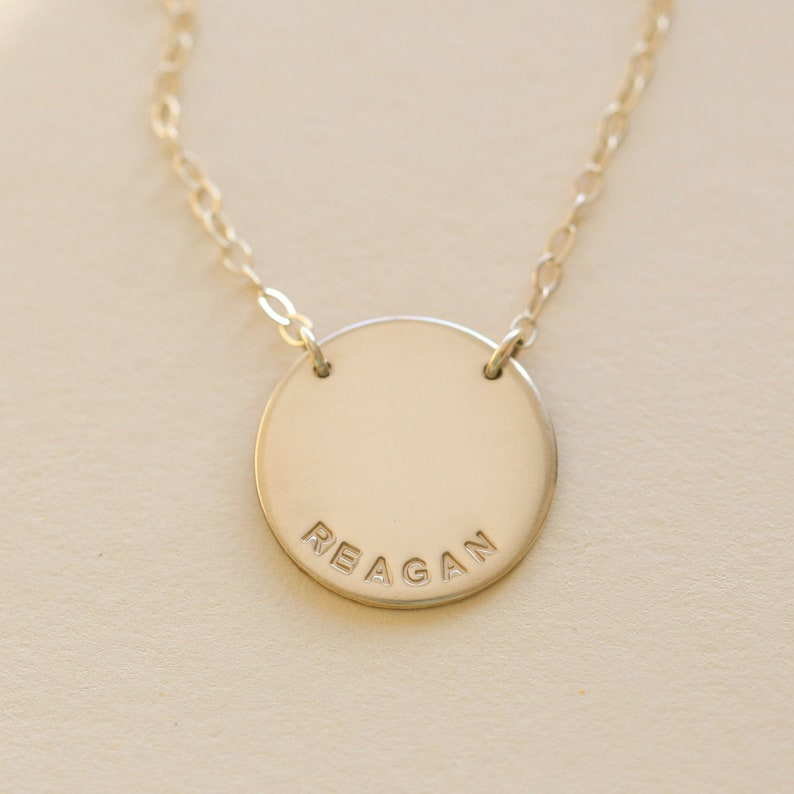 Personalized Necklace Pendant Necklace Customized Jewelry image 0