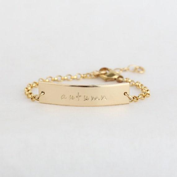 Baby Armband Gold Baby Schmuck Taufe Armband Taufe Geschenk Taufe Geschenk Baby Armband Personalisiert B 125x25br