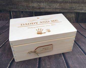 Personalised Memory Box