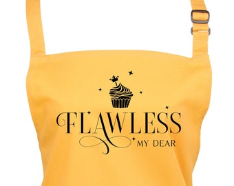 Bridgerton Flawless My Dear Baking Apron With Pocket / Choice of 22 Colours         (Ref: 1296)