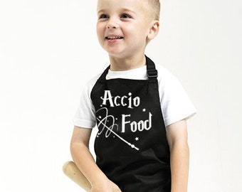 Accio Food Kids Apron With Safety Snap Feature on Neck Strap. Choice of 8 Colours (1192)