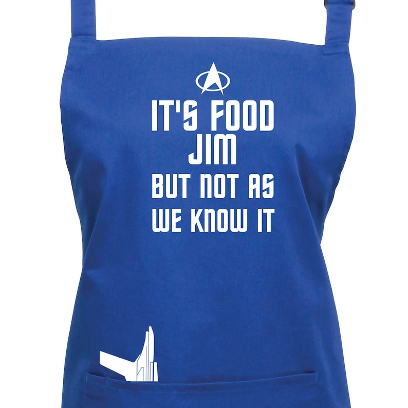 Star Trek Apron It's Food Jim But Not As We Know It image 0