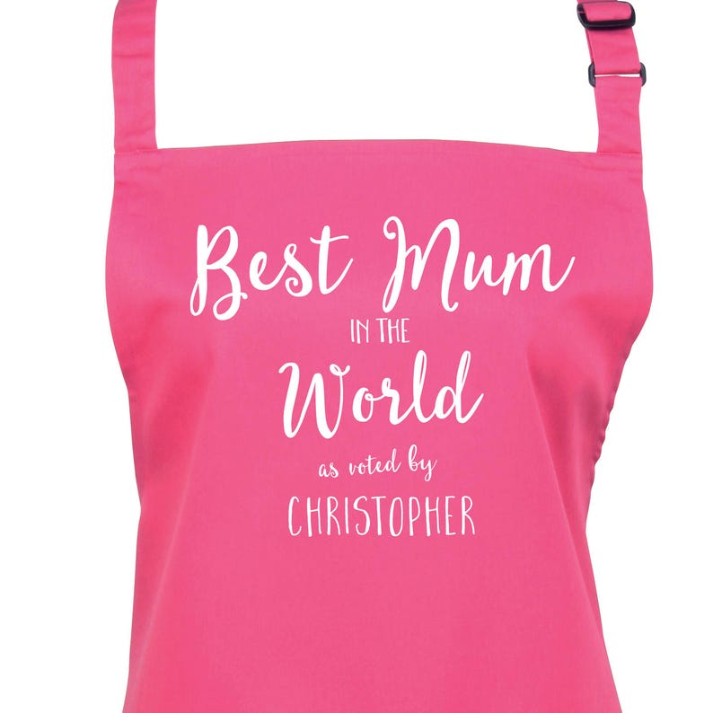Personalised Best Mom or Mum As Voted By... 23 Colours Large image 0