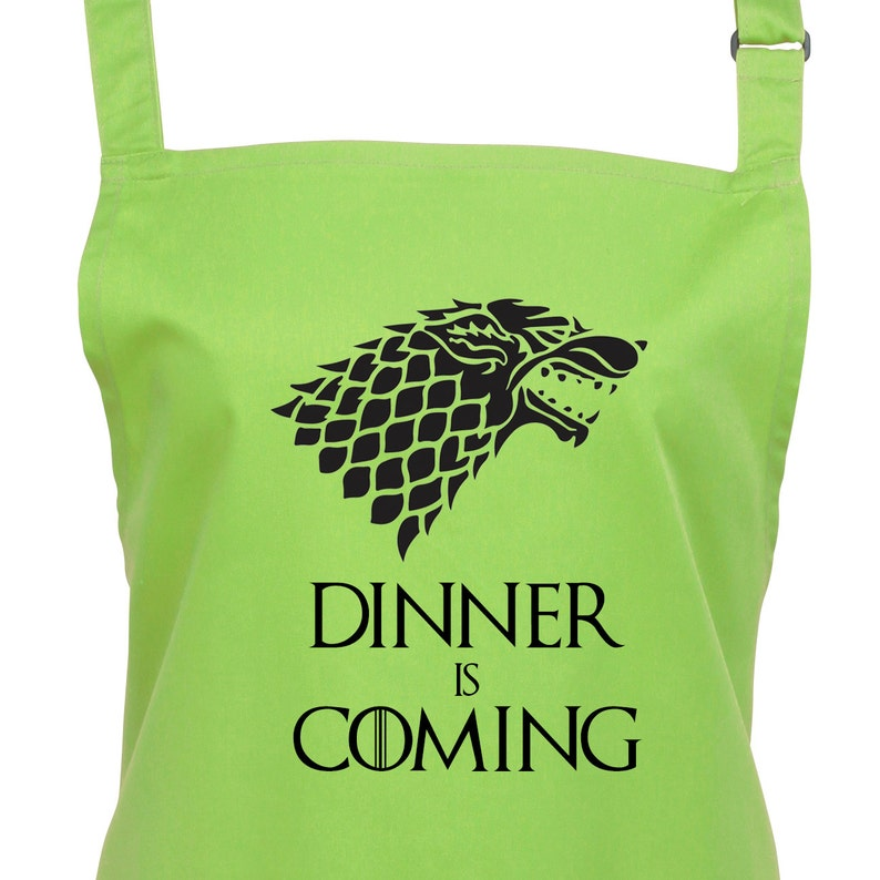 Game of Thrones Dinner is Coming Apron. 23 Colours Large image 0