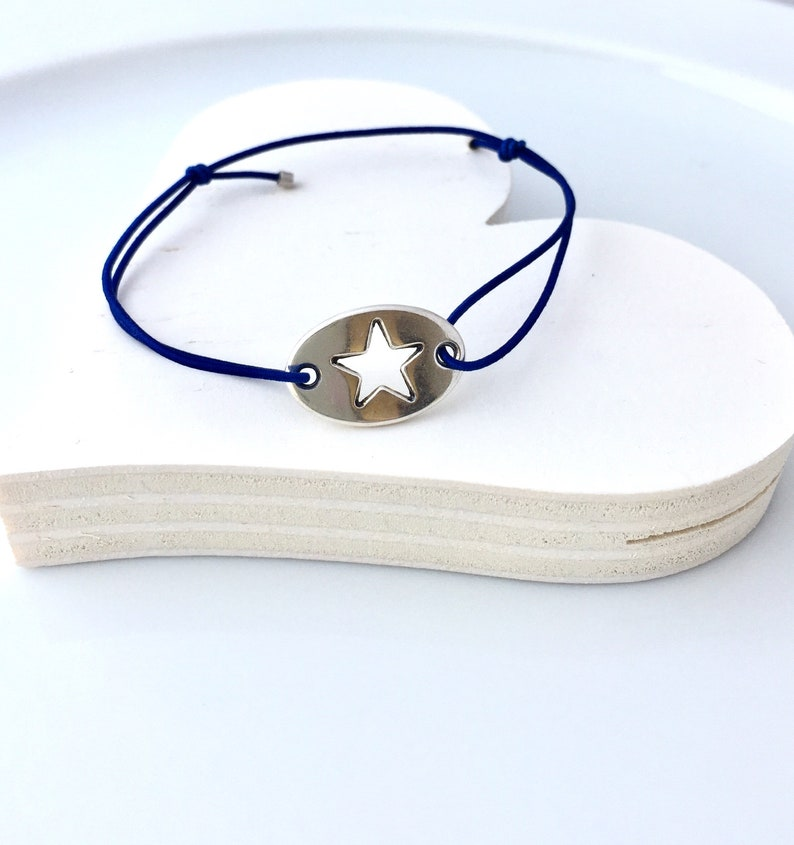 thin men women partner bracelets stars silver with jewelry card your choice in your desire bracelet colors