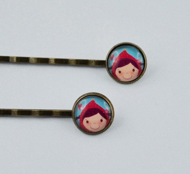 Hair & Head Jewelry Rote Haarspange Rot Leichtes Muster Und Glitzer Neu Jewelry & Watches