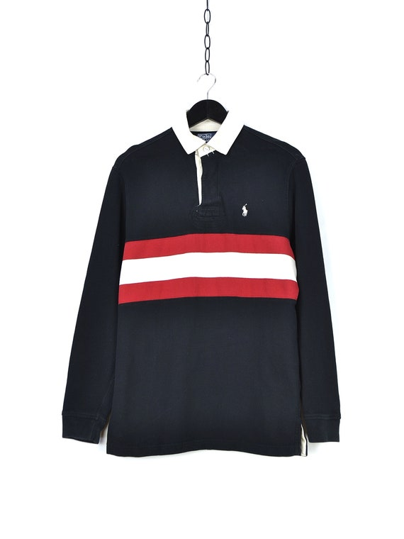 Vintage Polo Ralph Lauren Rugby Long Sleeve Shirt - image 3