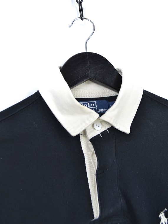 Vintage Polo Ralph Lauren Rugby Long Sleeve Shirt - image 4