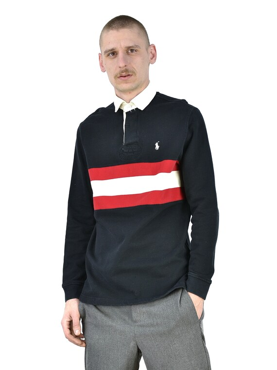 Vintage Polo Ralph Lauren Rugby Long Sleeve Shirt - image 1