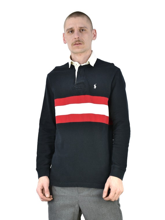 Vintage Polo Ralph Lauren Rugby Long Sleeve Shirt - image 2