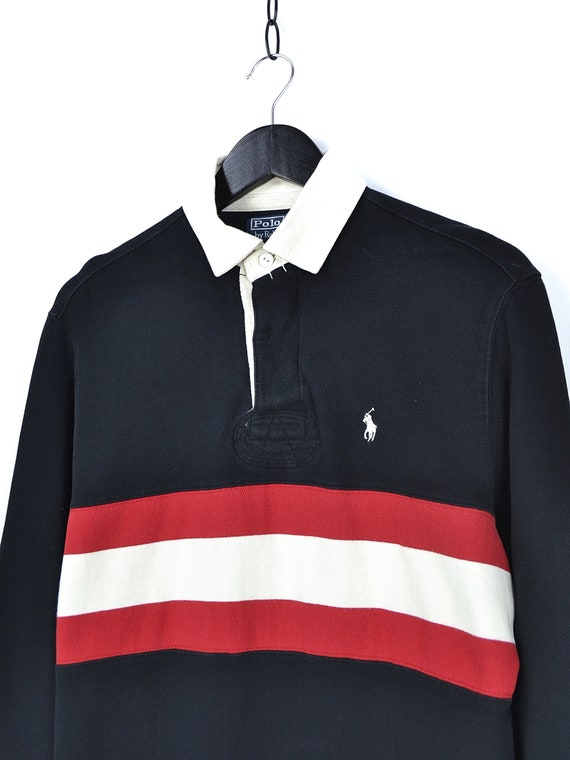 Vintage Polo Ralph Lauren Rugby Long Sleeve Shirt - image 5