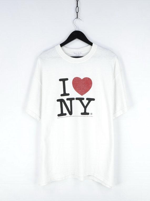 1996 Vintage I Love NY T Shirt