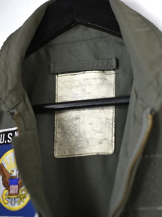 Vintage U.S Navy Army Overalls Jumpsuits - image 10