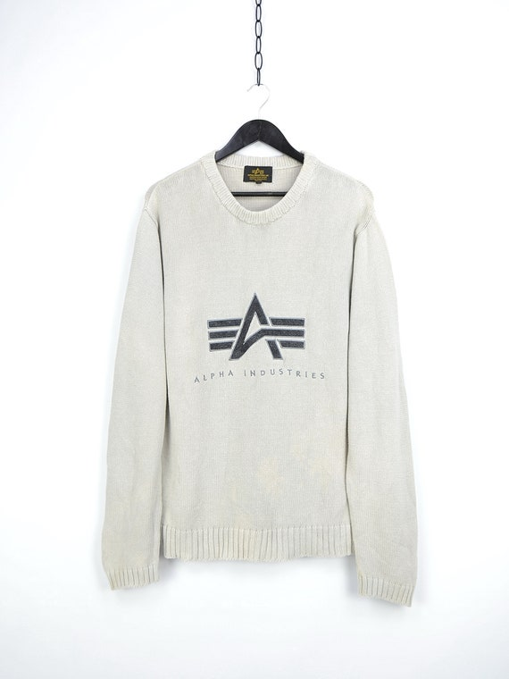 Vintage Alpha Industries Sweater