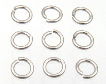 100% Quality 200 Jump Rings 4mm Antique Bronze Tone Low Price Crafts