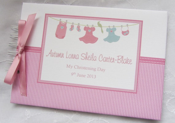 PERSONALISED-CHRISTENING-NAMING-DAY-GUEST-BOOK-GIFT-PRESENT-PHOTO-ALBUM BAPTISM