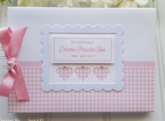 GUEST BOOK //PHOTO ALBUM//SCRAPBOOK PERSONALISED BOYS CHRISTENING// NAMING DAY