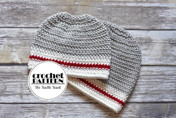 The Sock Monkey Beanie   Bun Hat Crochet Pattern Bundle  2269daffd9d