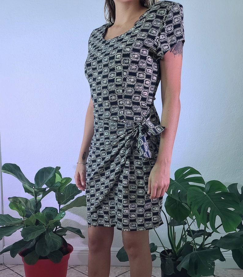 Vintage Jewel Pattern Dress